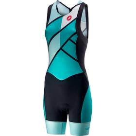 Castelli Free ITU Tri Suit Women turquoise/green